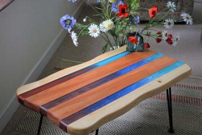 Epoxy and Wood Table